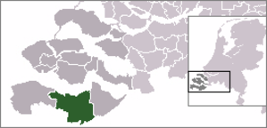 Sas van Gent - Image: Locatie Terneuzen