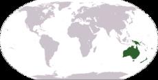 Austrália a Oceánia