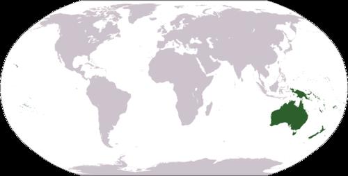 オセアニア 大陸