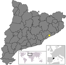 Location of Arenys de Munt.png