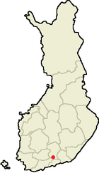 Location of Orimattila in Finland.png