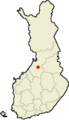 Location of Rantsila in Finland.png