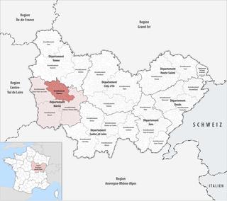 Arrondissement of Clamecy Arrondissement in Bourgogne-Franche-Comté, France