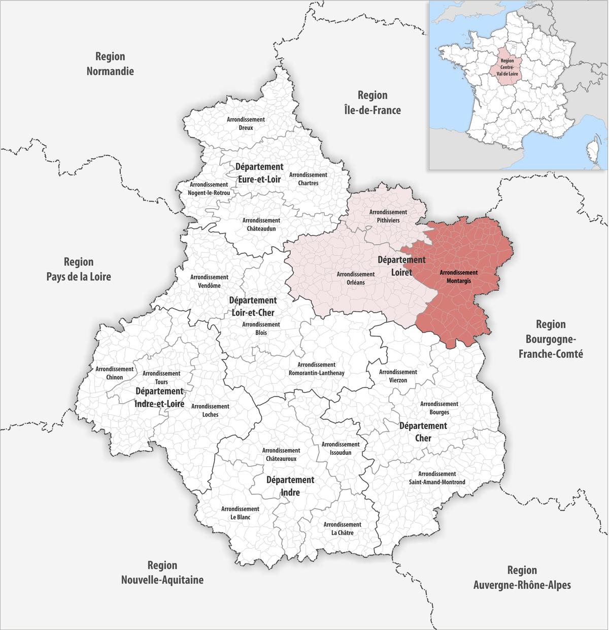 arrondissement montargis wikipedia
