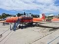 Lockheed T-33A trainer aircraft - Αεριωθούμενο εκπαιδευτικό αεροσκάφος (26428579813).jpg