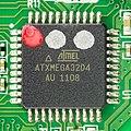 Logitech K750 - controller board - Atmel ATxmega32D4-3935.jpg