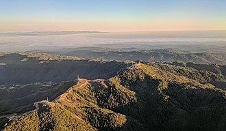 Loma Prieta - Image: Loma Prieta aerial