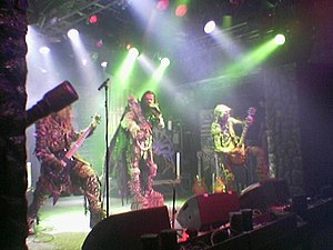 Lordi - Lordi performing live in 2005.