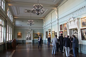 Lord's - The Long Room in the pavilion