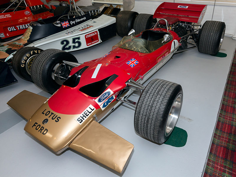 Archivo:Lotus 49B front-left Donington Grand Prix Collection.jpg