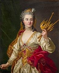 Geneviève-Françoise-Laurette Randon de Malboissiere as Melpomene