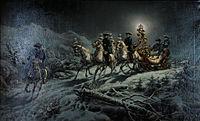 Louis II de Bavière Promenade nocturne en traineau.jpg