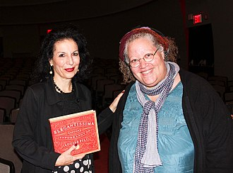 Gail Anderson (graphic designer) - Gail Anderson (right) with Louise Fili in 2012