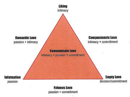 Sternberg robert of triangular the love theory Triangular theory