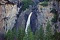 Lower Yosemite Falls (Yosemite Valley, Sierra Nevada Mountains, California, USA) (20042463411).jpg