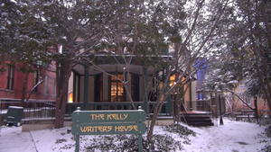 Kelly Writers House - Exterior view of the Kelly Writers House from Locust Walk