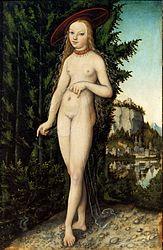 Lucas Cranach the Elder: Venus in a Landscape