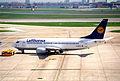 Lufthansa Boeing 737-330; D-ABEC@LHR;13.04.1996 (5216895643).jpg