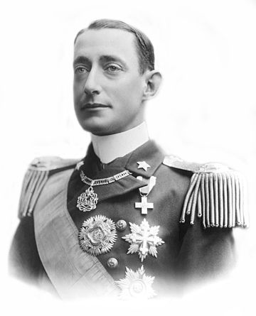 Prince Luigi Amedeo, Duke of the Abruzzi, founder of Villaggio Duca degli Abruzzi (Jowhar), the main agricultural colony in Italian Somaliland. Luigi Amedeo, Duke of the Abruzzi.jpg