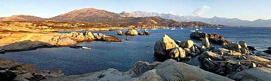 Lumio panorama Baie d'Algajo.jpg