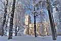 Lumisateen jälkeen Taulumäen kirkolla.jpg