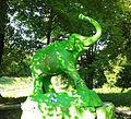 Lutsk, ботанічний сад, слон, 2016.jpg