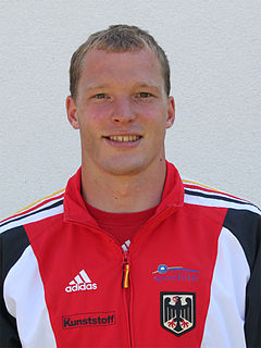 Lutz Altepost German sprint canoeist
