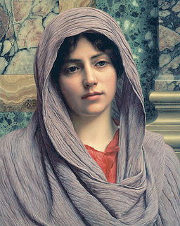 Lycinna, by John William Godward