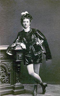 Lydia Wessler, elev ved Kungliga Operan 1872