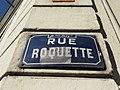 Lyon 9e - Rue Roquette - Plaque (fév 2019).jpg