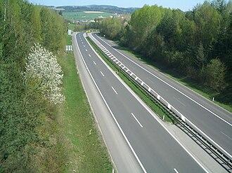 Mühlkreis Autobahn - End of Mühlkreis Autobahn