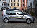 Městská policie v Českém Krumlově (Krummau) - car.JPG