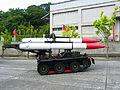 M-501 Missile loading tractor Display in ORCD 20121013a.jpg
