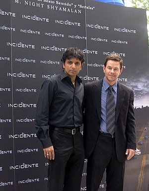 M. Night Shyamalan and Mark Wahlberg 01.jpg