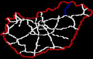 M30 motorway (Hungary) - Image: M30 Autópálya Hungary