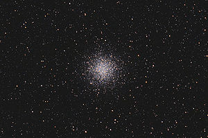 Messier 55 - Messier 55 with amateur telescope