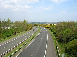 M74 Near Larkhall - geograph.org.uk - 165169.jpg
