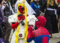 MCM London May 15 - Bride Deadpool & Spider-Man (18246036121).jpg