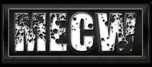 Main Event Championship Wrestling - MECW License Plate Logo