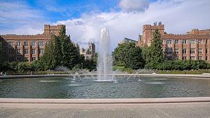 Drumheller Fountain - The fountain in 2013