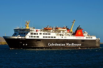 MV Isle of Lewis - Image: MV Isle of Lewis At Castlebay