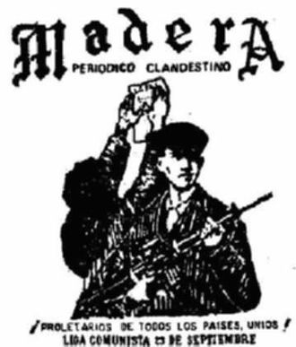 Liga Comunista 23 de Septiembre - Image: Madera lc 23s