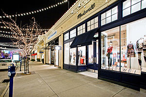 J.Crew - A Madewell store at Easton Town Center in Columbus, Ohio