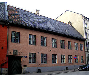 Society for the Preservation of Ancient Norwegian Monuments -  Fortidsminneforeningen Headquarters located in Dronningens gate 11 in Oslo