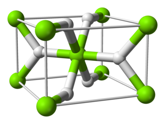Magnesium hydride - Image: Magnesium hydride unit cell 3D balls