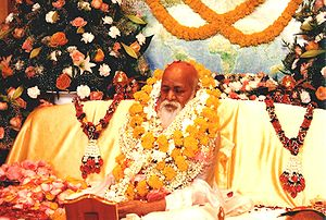 Maharishi Mahesh Yogi on 12 January 2005