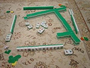 Mahjong - Image: Mahjong Setup