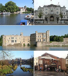Maidstone Human settlement in England