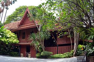 Jim Thompson (designer) - Main building, Jim Thompson House, Bangkok, Thailand (c. 2013).