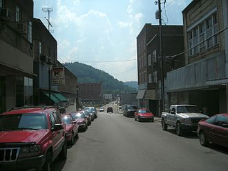 Harlan County, Kentucky - Main Street in Harlan